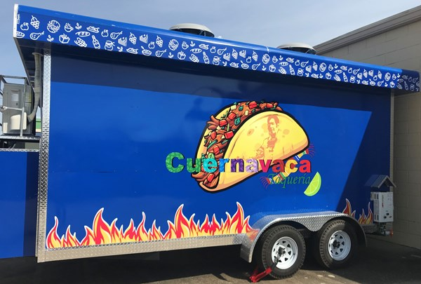Custom Decals, Wraps & Lettering - Food Truck - Tulsa Oklahoma